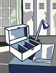 "Roy Lichtenstein ""Still Life with Cash Box"" Sold at Christie's 2009 $1,986,500"